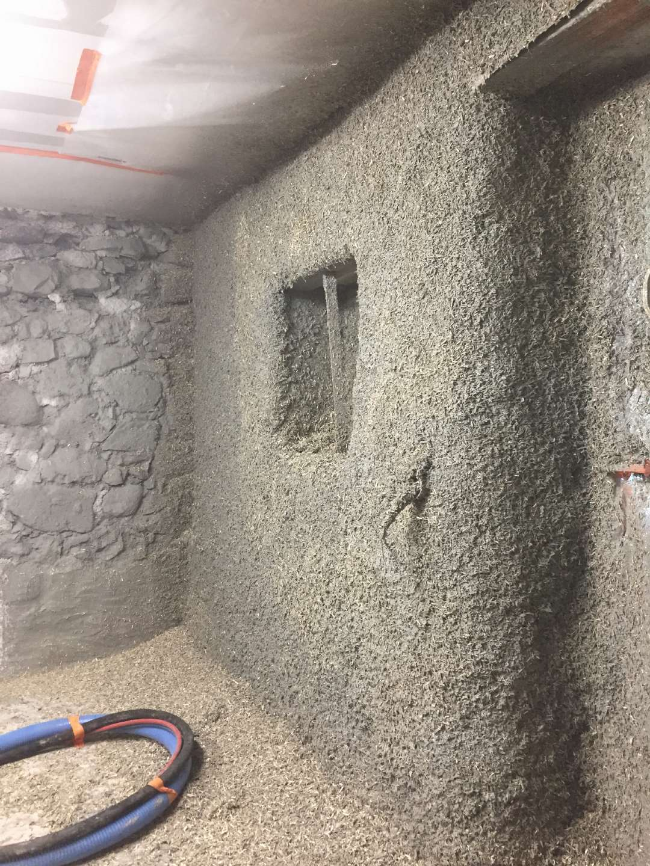 Utilisation de la brique de chanvre