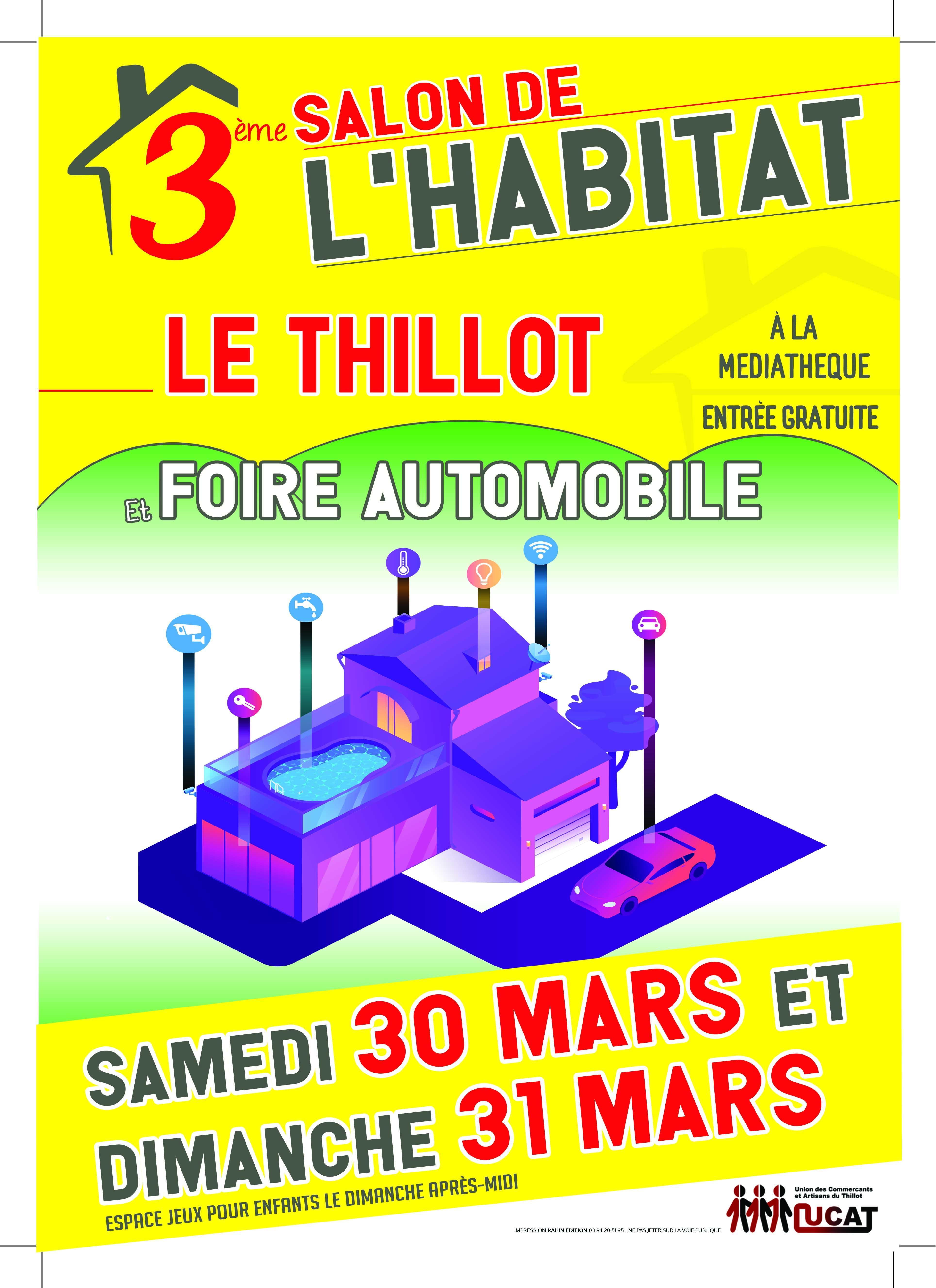 Salon de l'habitat à Le Thillot